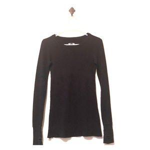 Delia's Long Sleeve Thumbhole Shirt, Sz XS